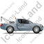 Tow Truck Right Grey Icon