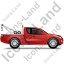 Tow Truck Right Red Icon