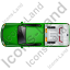 Tow Truck Top Green Icon