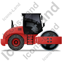 Steam Roller Right Red Icon