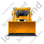 Bulldozer Front Yellow Icon