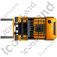 Forklift Truck Top Yellow Icon, PNG/ICO, 64x64