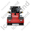 Steam Roller Back Red Icon, PNG/ICO, 64x64
