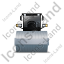 Steam Roller Front Grey Icon, PNG/ICO, 64x64
