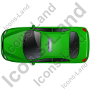 Taxi Top Green Icon