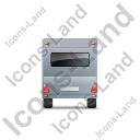 Caravan Back Grey Icon