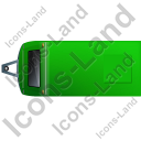 Caravan Top Green Icon, PNG/ICO, 128x128