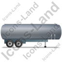 Tanker Trailer Right Grey Icon