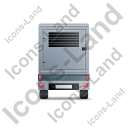 Ultra Silent Generator Trailer Back Grey Icon