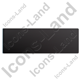 Box Trailer Top Black Icon, PNG/ICO, 256x256