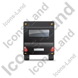 Caravan Back Black Icon