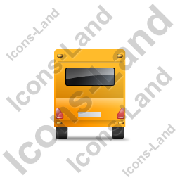 Caravan Back Yellow Icon, PNG/ICO, 256x256