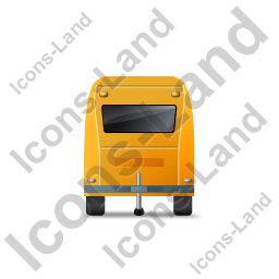 Caravan Front Yellow Icon