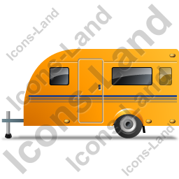 Caravan Left Yellow Icon