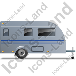 Caravan Right Grey Icon