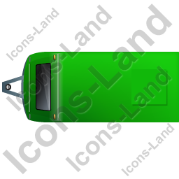 Caravan Top Green Icon, PNG/ICO, 256x256
