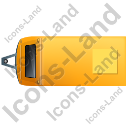 Caravan Top Yellow Icon, PNG/ICO, 256x256