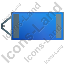 Ultra Silent Generator Trailer Top Blue Icon, PNG/ICO, 256x256