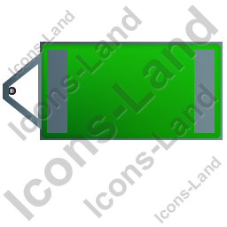 Ultra Silent Generator Trailer Top Green Icon, PNG/ICO, 256x256