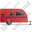 Caravan Right Red Icon