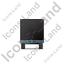 Car Trailer Front Black Icon, PNG/ICO, 64x64