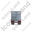 Containerized Generator Trailer Back Grey Icon, PNG/ICO, 64x64