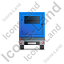 Ultra Silent Generator Trailer Back Blue Icon