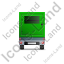 Ultra Silent Generator Trailer Back Green Icon, PNG/ICO, 64x64