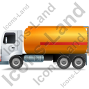 Fuel Tank Truck Left Yellow Icon