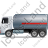 Fuel Tank Truck Left Grey Icon