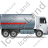 Fuel Tank Truck Right Grey Icon