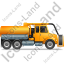 Sewer Cleaning Truck Right Yellow Icon