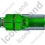 Sewer Cleaning Truck Top Green Icon