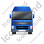 Tractor Unit Front Blue Icon