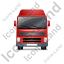 Tractor Unit Front Red Icon