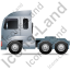 Tractor Unit Left Grey Icon