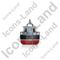 Rescue Lifeboat Back Black Icon
