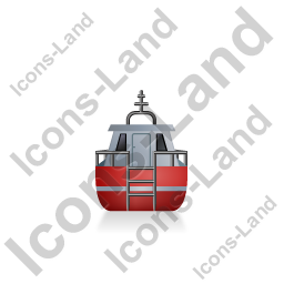 Rescue Lifeboat Back Red Icon