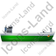 Bulk Carrier Right Green Icon