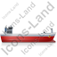 Bulk Carrier Right Red Icon