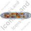 Container Ship Top Grey Icon