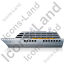Cruise Ship Left Grey Icon