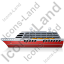 Cruise Ship Left Red Icon