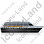 Cruise Ship Right Black Icon