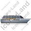 Cruise Ship Right Grey Icon