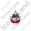 Rescue Lifeboat Front Grey Icon