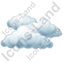 Cloudy Icon, PNG/ICO, 128x128