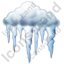 Freezing Rain Icon