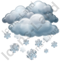 Snow Icon, PNG/ICO, 128x128