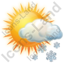 Snow Occasional Icon, PNG/ICO, 128x128